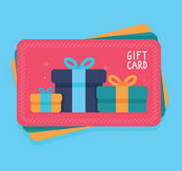 Flat giftcard
